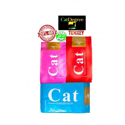 Cat Food- CAT DEGREE- All Life Stage 10kg