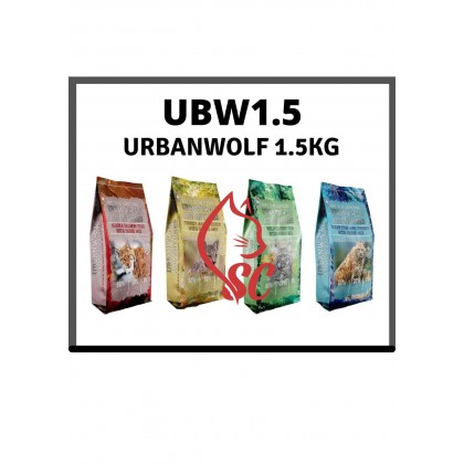 CAT FOOD- URBANWOLF- GRAINFREECATFOOD 1.5KG