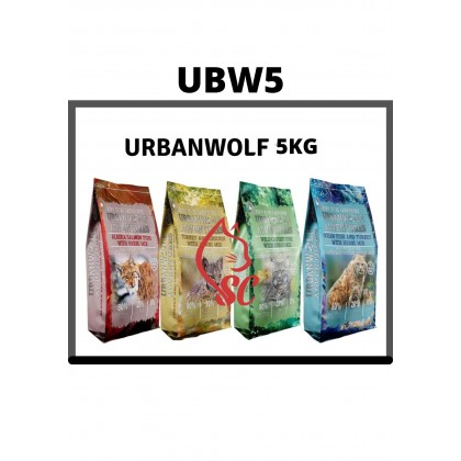 Cat Food- URBANWOLF- GRAINFREE5kg